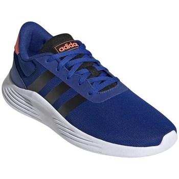Schuhe Jungen Laufschuhe adidas Originals Lite Racer Weiß, Blau, Orangefarbig