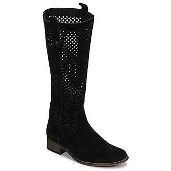 Schuhe Damen Klassische Stiefel Betty London DIVOUI Schwarz