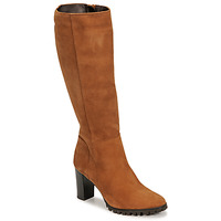 Schuhe Damen Klassische Stiefel Betty London NOEME Camel