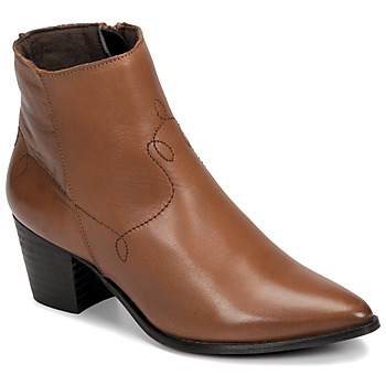 Schuhe Damen Low Boots Betty London NIMIE Camel