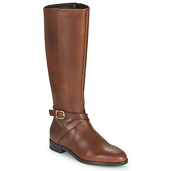 Schuhe Damen Klassische Stiefel Betty London NILOU Camel