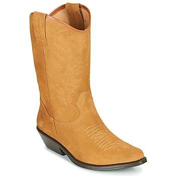 Schuhe Damen Klassische Stiefel Betty London LOVA Camel