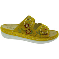 Schuhe Damen Pantoffel Calzaturificio Loren LOB5021gi rosso