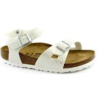 Schuhe Mädchen Sandalen / Sandaletten Birkenstock BIR-RRR-1008286-WH Bianco