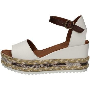 Schuhe Damen Sandalen / Sandaletten Bueno Shoes Q6000 WEISS