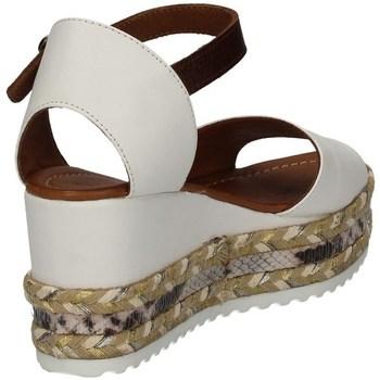 Bueno Shoes Q6000 WEISS - Schuhe Sandalen / Sandaletten Damen 8000