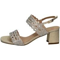 Schuhe Damen Sandalen / Sandaletten Menbur 21581 GOLD