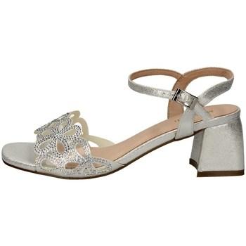 Schuhe Damen Sandalen / Sandaletten Menbur 21249 SILBER