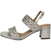 Schuhe Damen Sandalen / Sandaletten Menbur 21581 SILBER