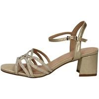Schuhe Damen Sandalen / Sandaletten Menbur 21297 GOLD