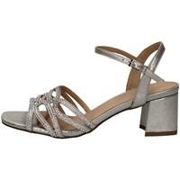Schuhe Damen Sandalen / Sandaletten Menbur 21297 SILBER