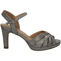 Schuhe Damen Sandalen / Sandaletten Menbur 21854 SILBER