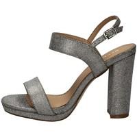 Schuhe Damen Sandalen / Sandaletten Menbur 21519 SILBER