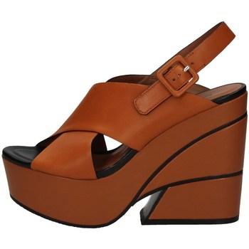 Schuhe Damen Sandalen / Sandaletten Elvio Zanon EL3201 LEDER
