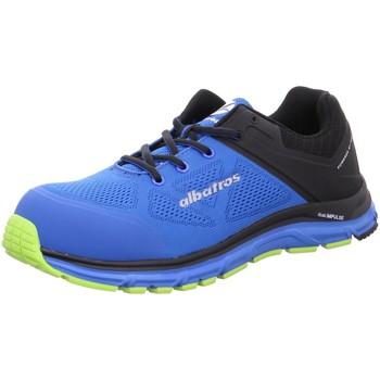 Schuhe Herren Laufschuhe Albatros Sportschuhe S1P -Lift Blue Impulse Low ESD 646610 blau