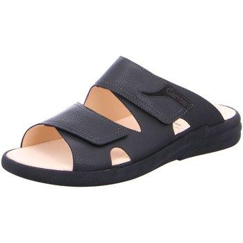 Schuhe Damen Pantoffel Ganter Pantoletten Harry H /Sportnappa 257021-0100 schwarz