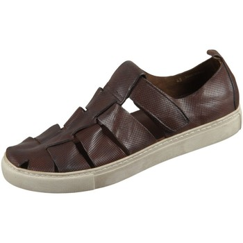 Schuhe Herren Sandalen / Sandaletten The Sandals Factory Offene M7033-530 beige marrone Tinder Vacc M7033-530 braun