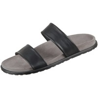 Schuhe Herren Pantoletten / Clogs The Sandals Factory Offene M6762-442 nero Adria M6762-442 schwarz