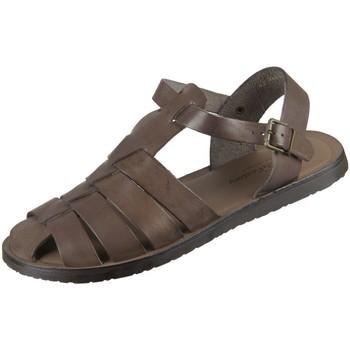 Schuhe Herren Sandalen / Sandaletten The Sandals Factory Offene M7533-49 moka taupe Magica M7533-49 braun