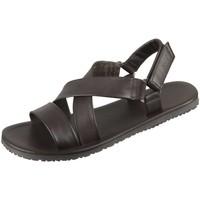 Schuhe Herren Sandalen / Sandaletten The Sandals Factory Offene M6527 t.moro t.moro Vitello M6527 t.moro braun