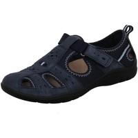 Schuhe Damen Sandalen / Sandaletten Earth Spirit Slipper 36000,20,409 blau