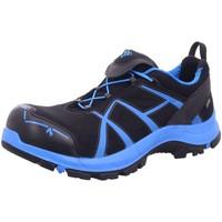 Schuhe Jungen Wanderschuhe Haix Bergschuhe S3 Black EAGLE SAFETY 40 610001 schwarz