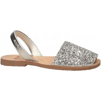 Schuhe Damen Sandalen / Sandaletten Ria METALIZADO plata