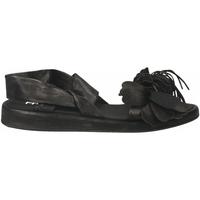 Schuhe Damen Sandalen / Sandaletten Now CLOE' nero-acciaio