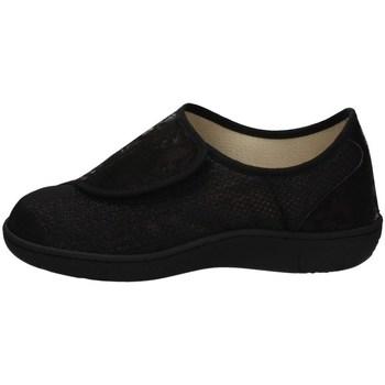 Schuhe Damen Sneaker Low Davema 5205 SCHWARZ