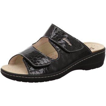 Schuhe Damen Hausschuhe Hickersberger 2170-9530 schwarz