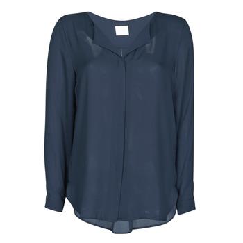 Kleidung Damen Tops / Blusen Vila VILUCY Marine
