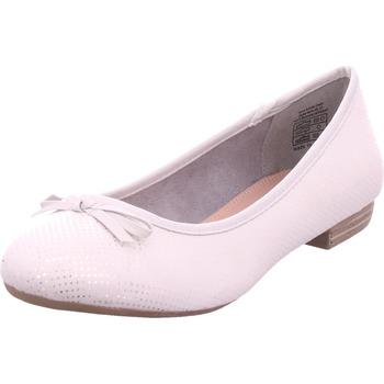 Schuhe Damen Ballerinas Idana Ballerina glatt und sportlich LT. GREY 227
