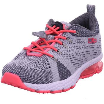 Schuhe Mädchen Slipper Cmp Kids Knit Fitness shoe cemento-yellow