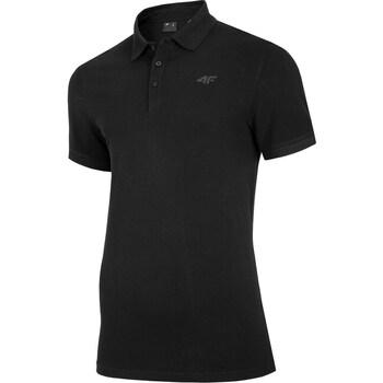 Kleidung Herren Polohemden 4F TSM008 Schwarz