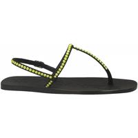 Schuhe Damen Sandalen / Sandaletten Eddy Daniele ROMINA RASO nero-giallo
