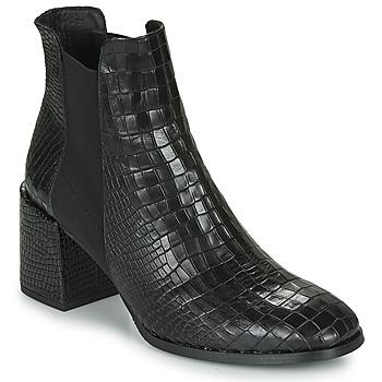 Schuhe Damen Low Boots Fericelli NONUTS Schwarz