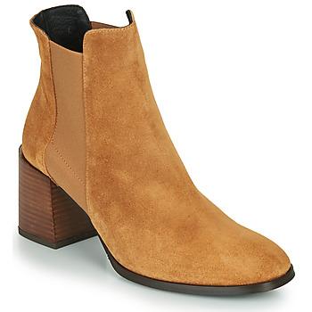 Schuhe Damen Low Boots Fericelli NONUTS Camel