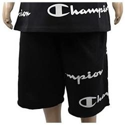Kleidung Jungen Shorts / Bermudas Champion Boy's Bermuda Shorts (305182-kk001) Schwarz