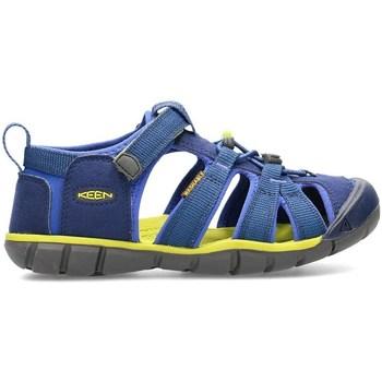Schuhe Kinder Sandalen / Sandaletten Keen Seacamp II Cnx Blau, Olivgrün, Graphit