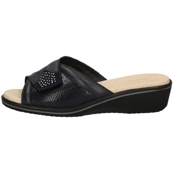Schuhe Damen Pantoffel Susimoda 1907/14 BLAU