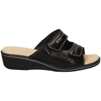 Schuhe Damen Pantoletten Susimoda 1530/14 SCHWARZ
