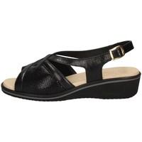 Schuhe Damen Sandalen / Sandaletten Susimoda 2701/14 SCHWARZ