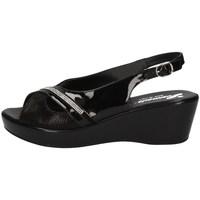 Schuhe Damen Sandalen / Sandaletten Susimoda 240543/43 SCHWARZ