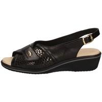 Schuhe Damen Sandalen / Sandaletten Susimoda 2227/14 SCHWARZ