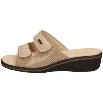 Schuhe Damen Pantoletten Susimoda 1530/14 BEIGE