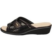 Schuhe Damen Pantoffel Susimoda 1016/14 SCHWARZ