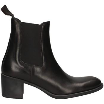 Schuhe Damen Ankle Boots Campanile CC932 SCHWARZ