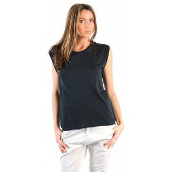 Kleidung Damen T-Shirts American Vintage TOP JAC60 CARBONE Grau