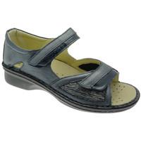 Schuhe Damen Sandalen / Sandaletten Calzaturificio Loren LOM2834bl blu
