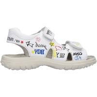 Schuhe Jungen Sportliche Sandalen Naturino - Sandalo bianco RUACANA-0N01 BIANCO